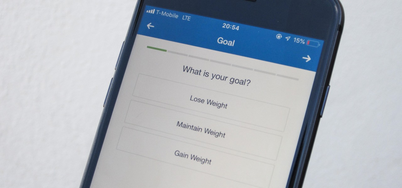 Customize Your Weekly & Daily Goals in MyFitnessPal
