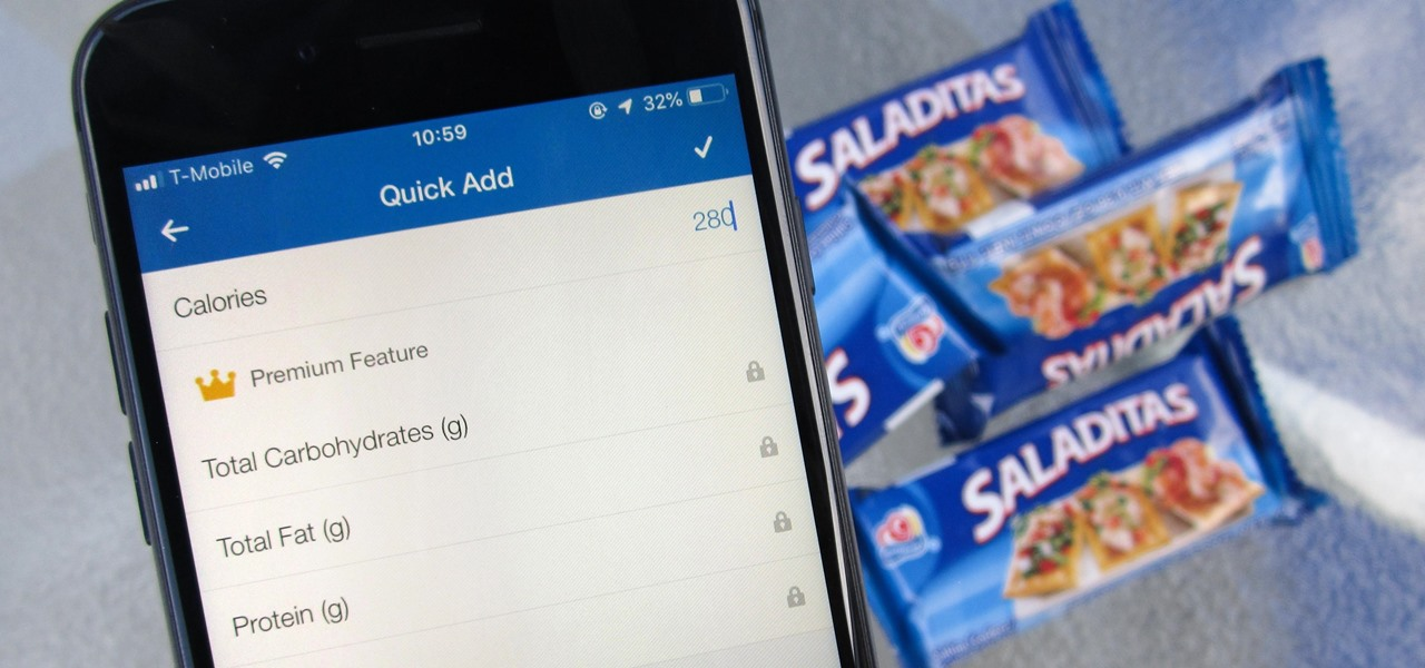 'Quick Add' Calories for Snacks in MyFitnessPal to Keep Yourself Accountable for Every Tiny Bite