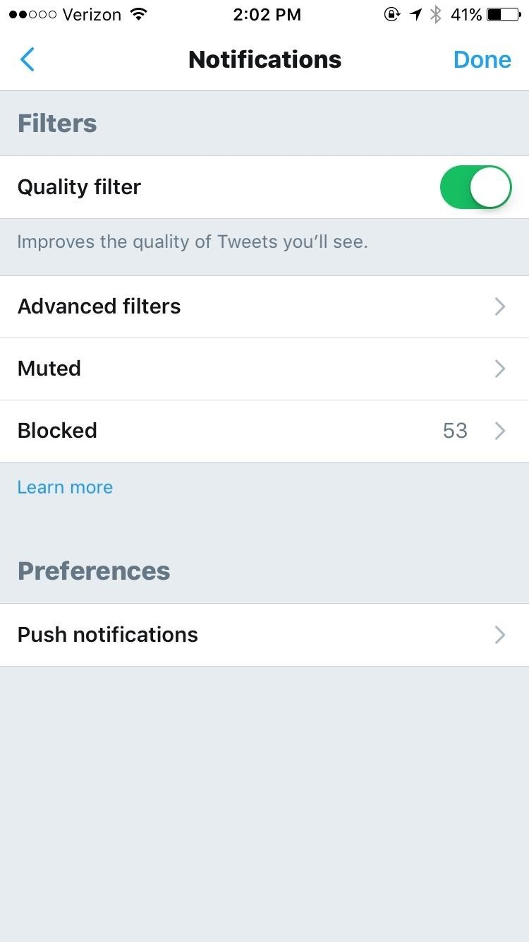 Twitter 101: How to Stop Getting Notifications from Anyone That You Don't Know