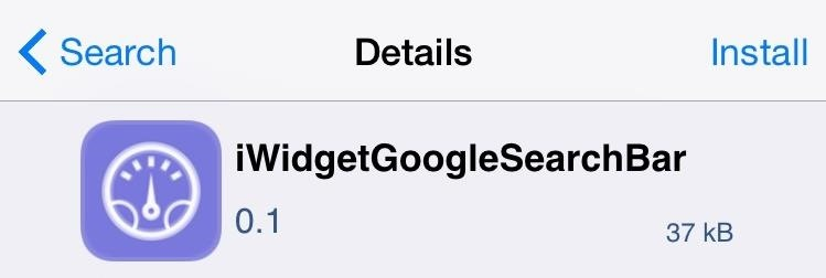 Add a Google Search Widget to Your iPhone's Home Screen