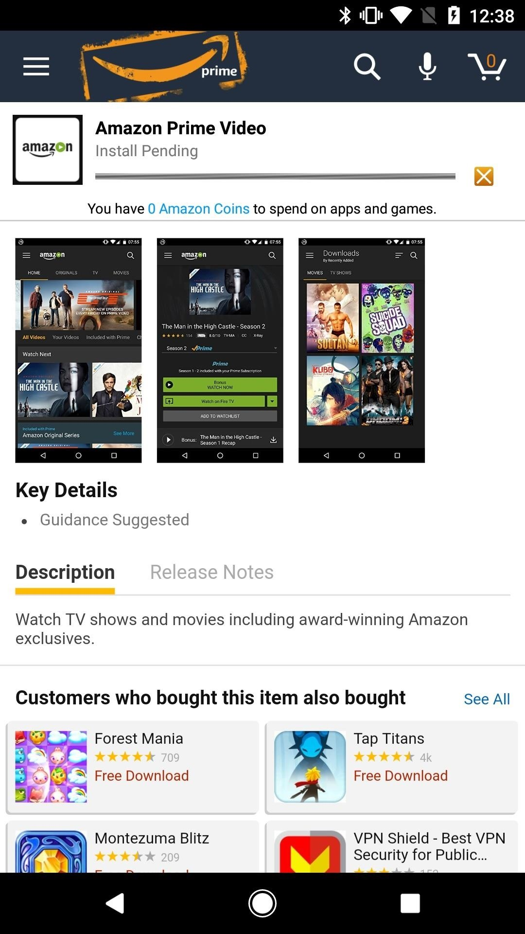 price, can you watch amazon video on android very, very mediocre