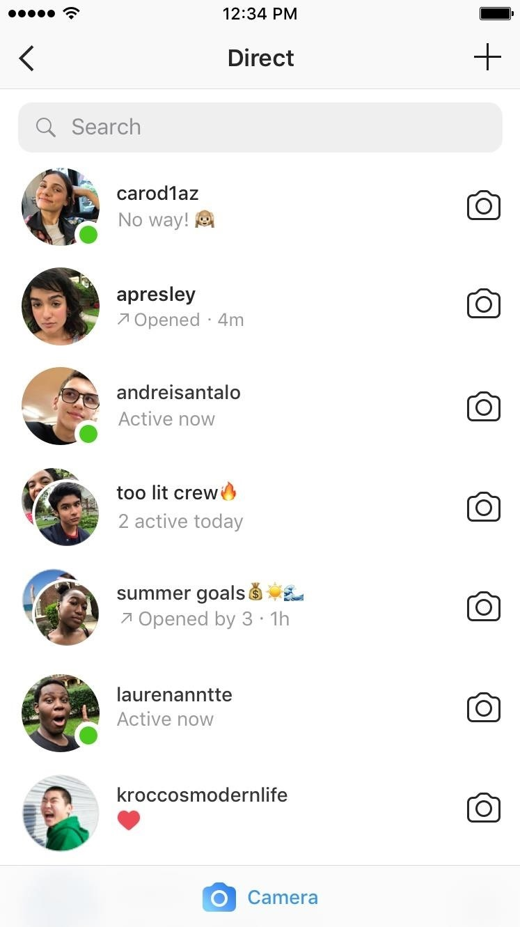 Go Incognito on Instagram by Turning Off Your Green Dot Activity Status
