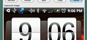 Take Screenshots of the HTC Droid Incredible in Mac OS X with the Android SDK