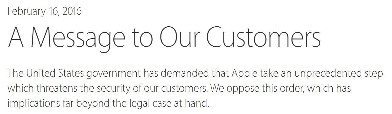 iPhone Security: Apple Refuses FBI's Demands to Create iOS Backdoor