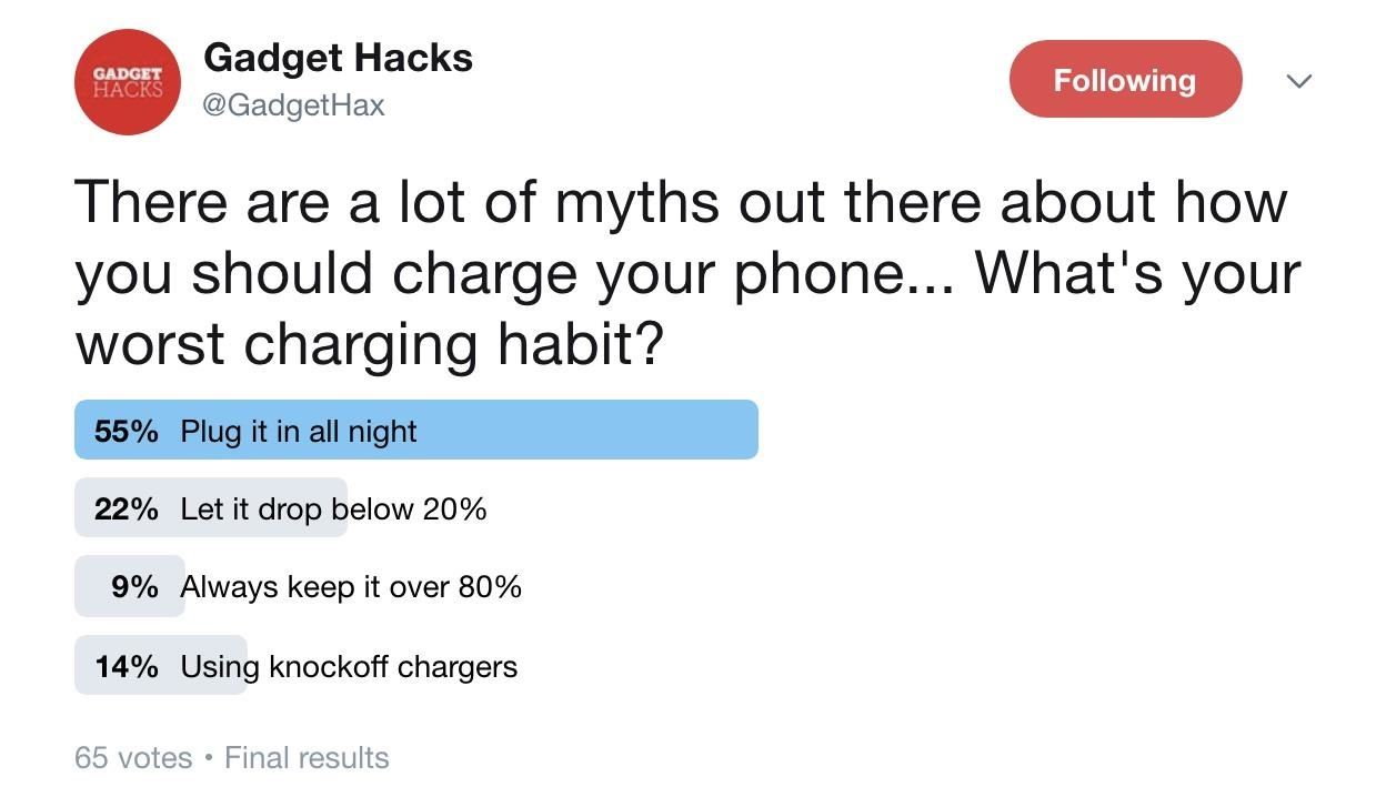 You're doing it wrong: 3 bad habits that are ruining your phone's battery