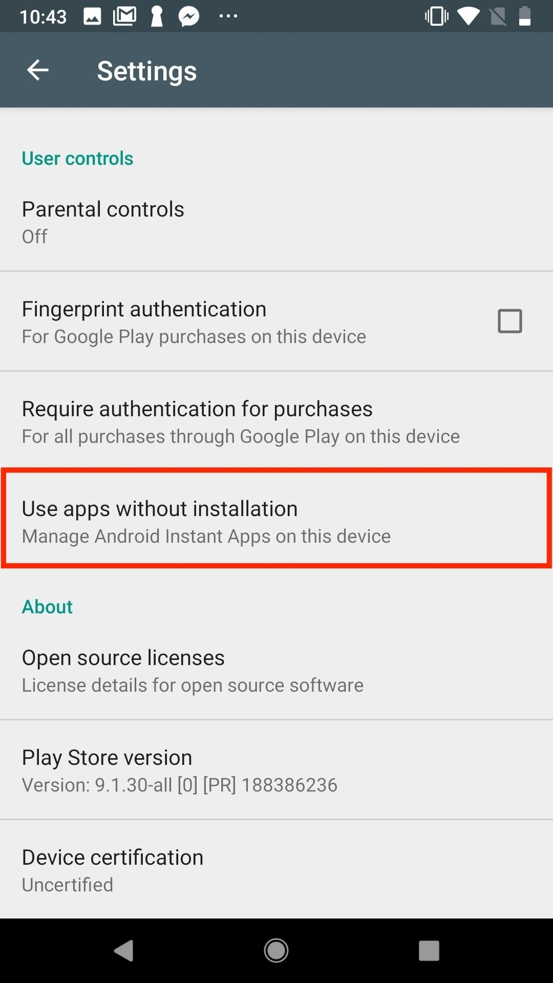 Google Play Instant Apps & Games Not Working? Check These Settings