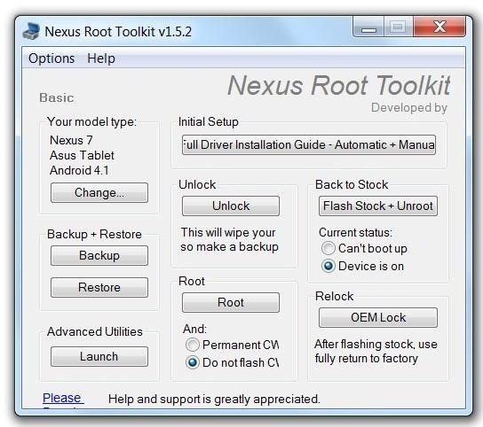 How to Unlock and Root Your Google Nexus 7 Tablet