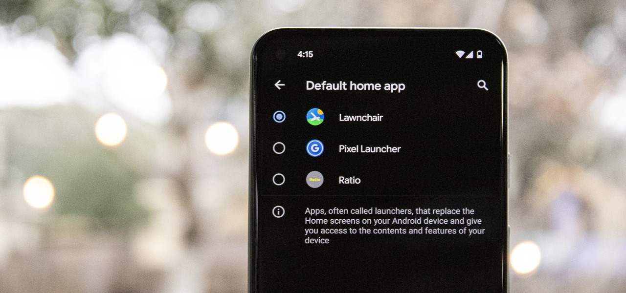 Change or Replace Your Android's Home Screen App