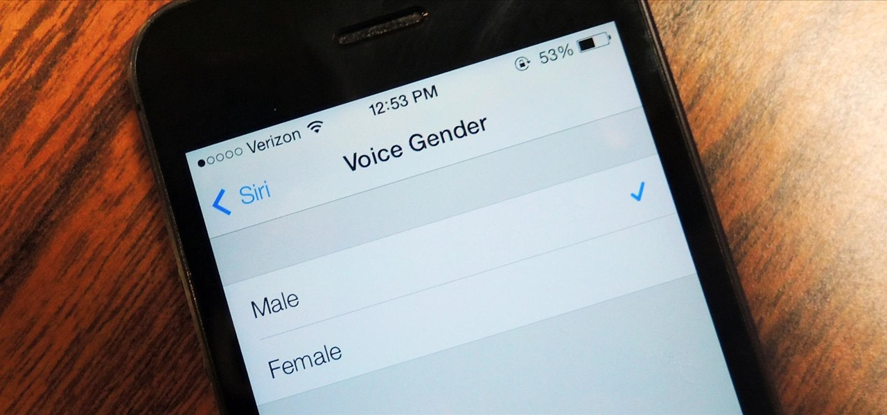 Change Siri's Voice from Female to Male in iOS 7 on Your iPhone