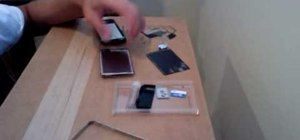 Open the iPhone 2G to replace front screen & digitizer