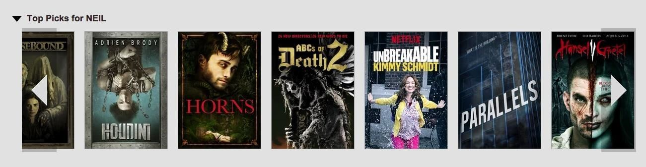 Change Netflix's Pesky Horizontal Scrolling into a Movie Grid View for Easier Browsing