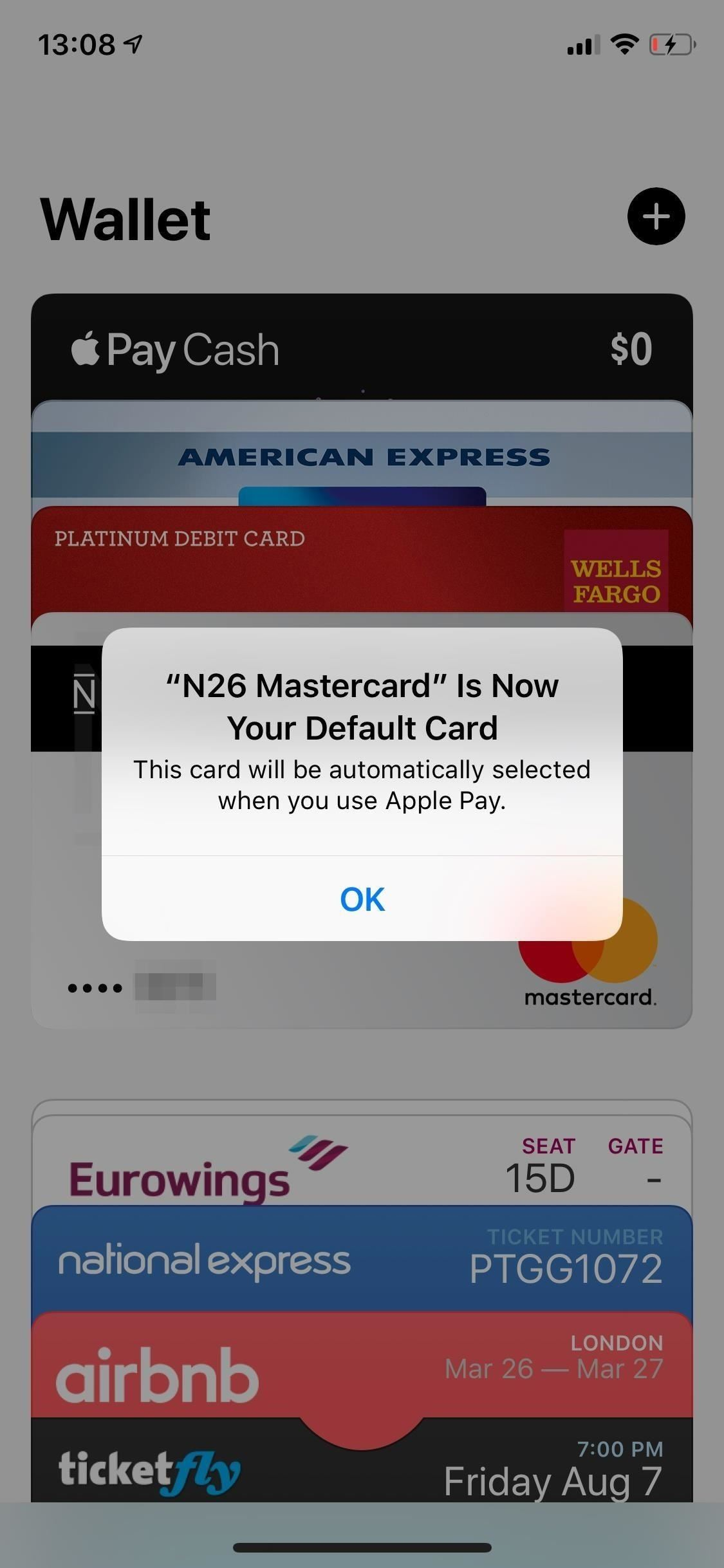 Change Your Default Card for Apple Pay So You Never Have to Choose During Checkout