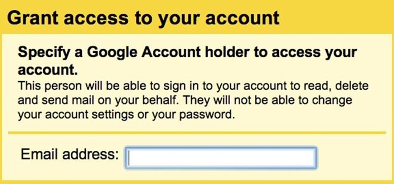 Grant Other People Access to Your Gmail Account Without Sharing Your Password