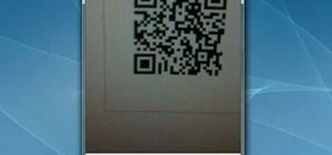 Scan QR codes with an Apple iPhone 3G or 4G smartphone