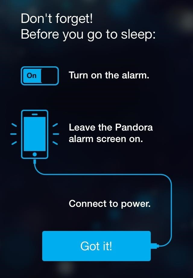 How to Set Up a Pandora Alarm Clock on Your iPhone for a Less Annoying Start to Your Day