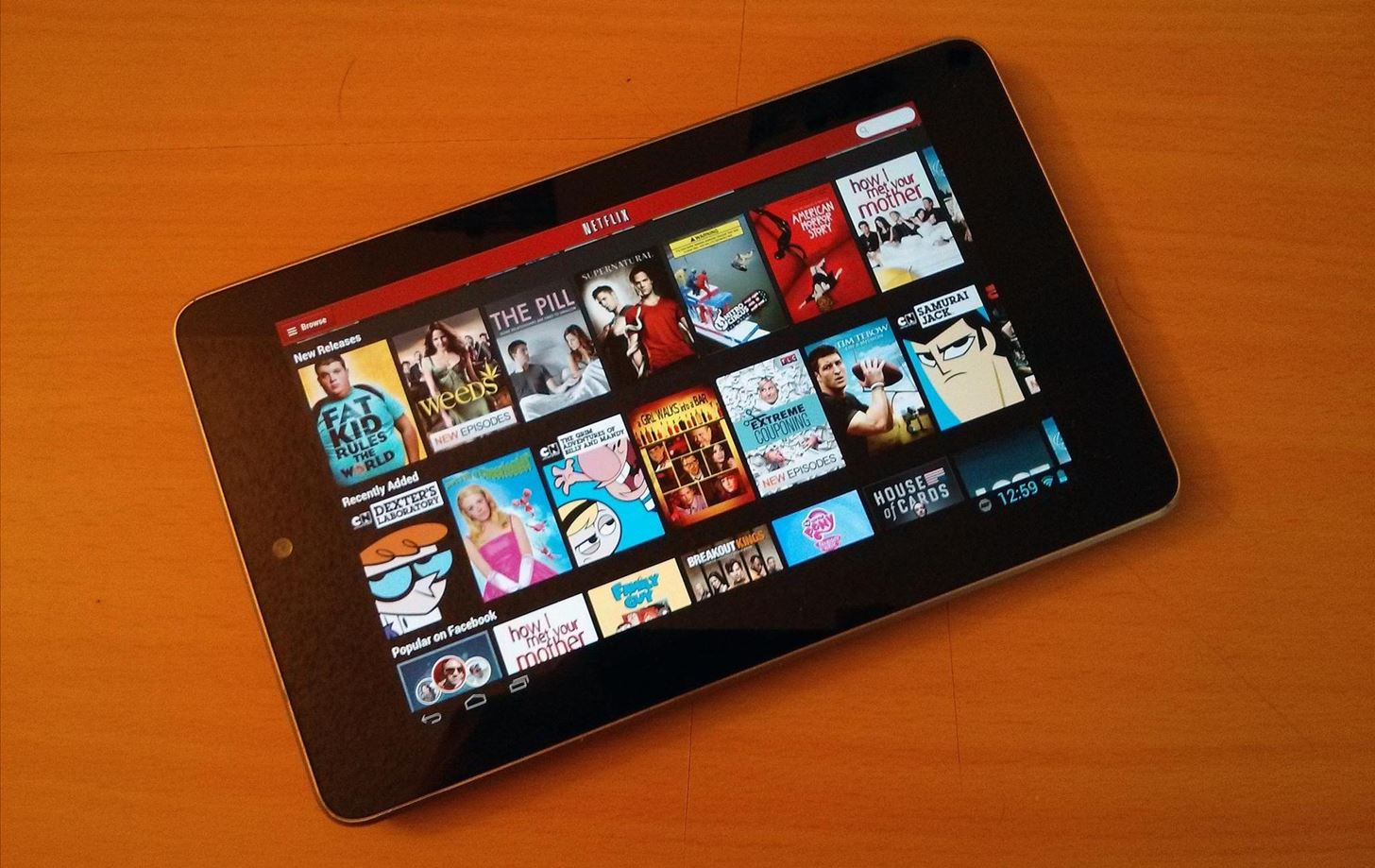 How to Mod Your Nexus 7 to Make Netflix & YouTube Show You More Video Options on the Screen
