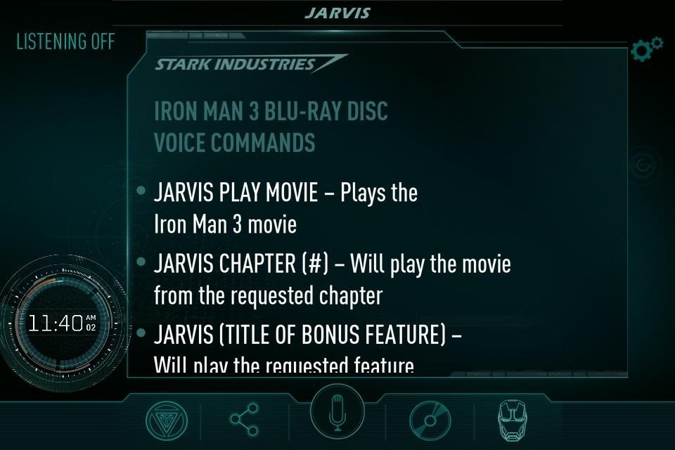 Be Just Like Tony Stark with the JARVIS Personal Assistant for iPad & iPhone