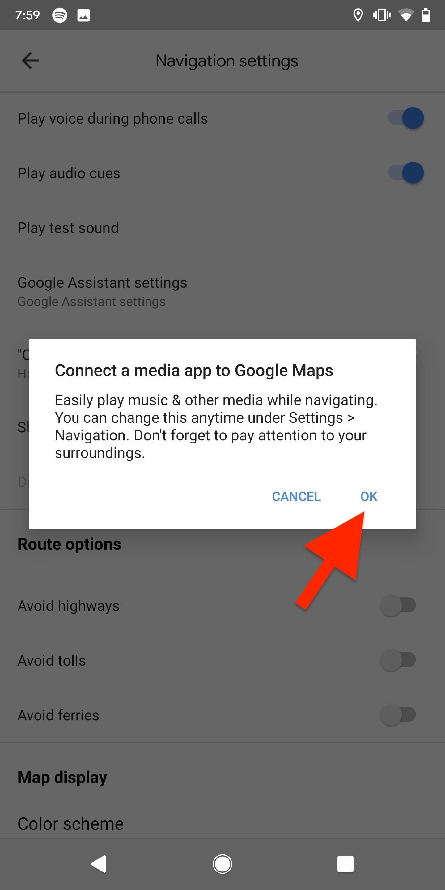 Add Playback Controls for Apple Music, Spotify & Other Music Services to Google Maps for Quick Access During Navigation