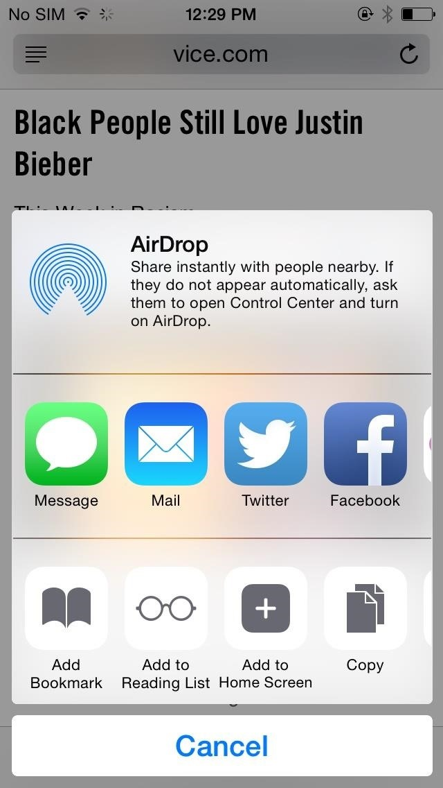 How to Add, Remove, & Reorder Share Options on Your iPhone (iOS 8)