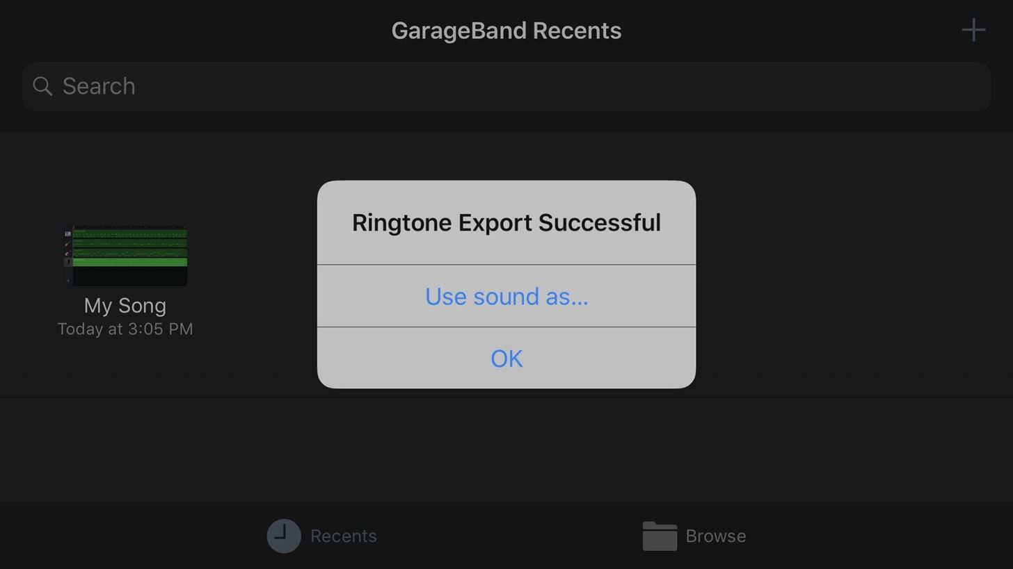 How to Save Your GarageBand Songs as Custom iPhone Ringtones & Alert Tones