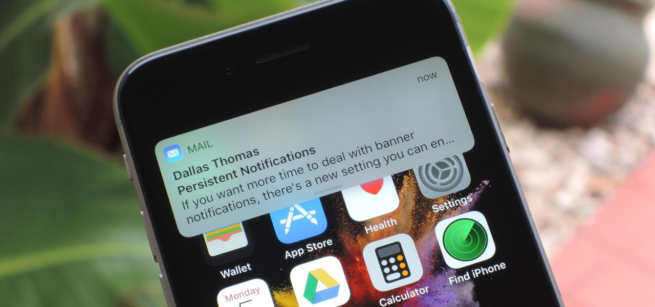 Set Persistent Notifications for Apps on Your iPhone