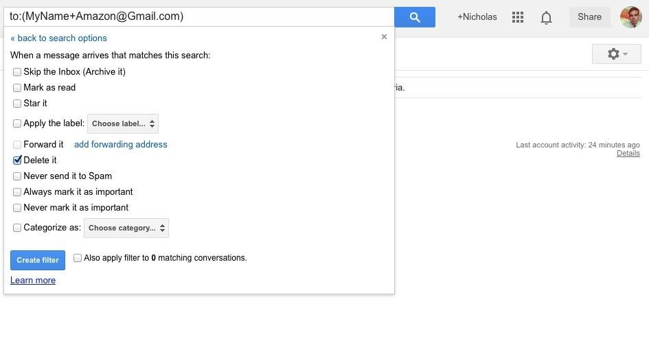 These Clever Gmail Hacks Will Stop Spam from Sites Who Sell Your Email Address