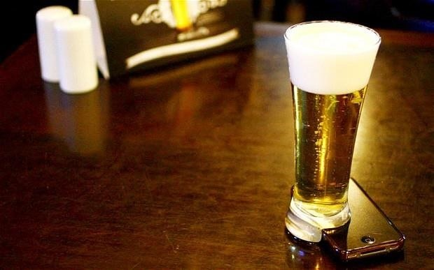 Beer—Could It Be the Answer to Your Smartphone Addiction?