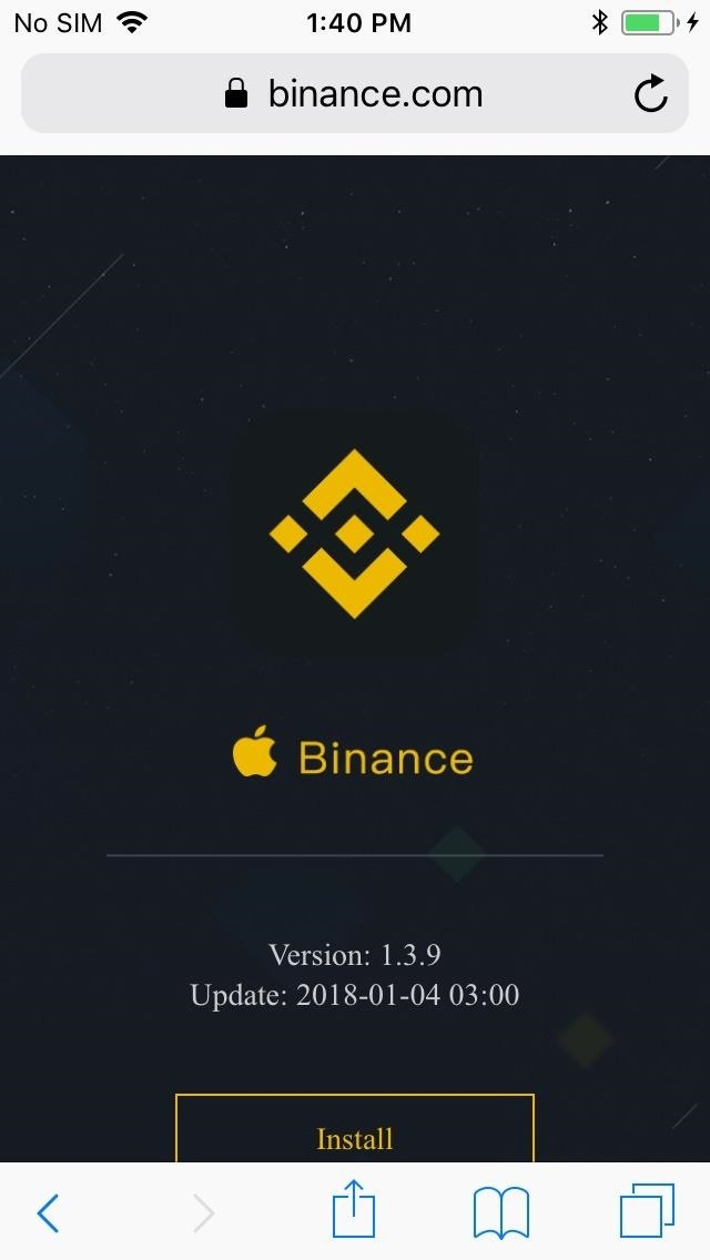 Binance App Ios