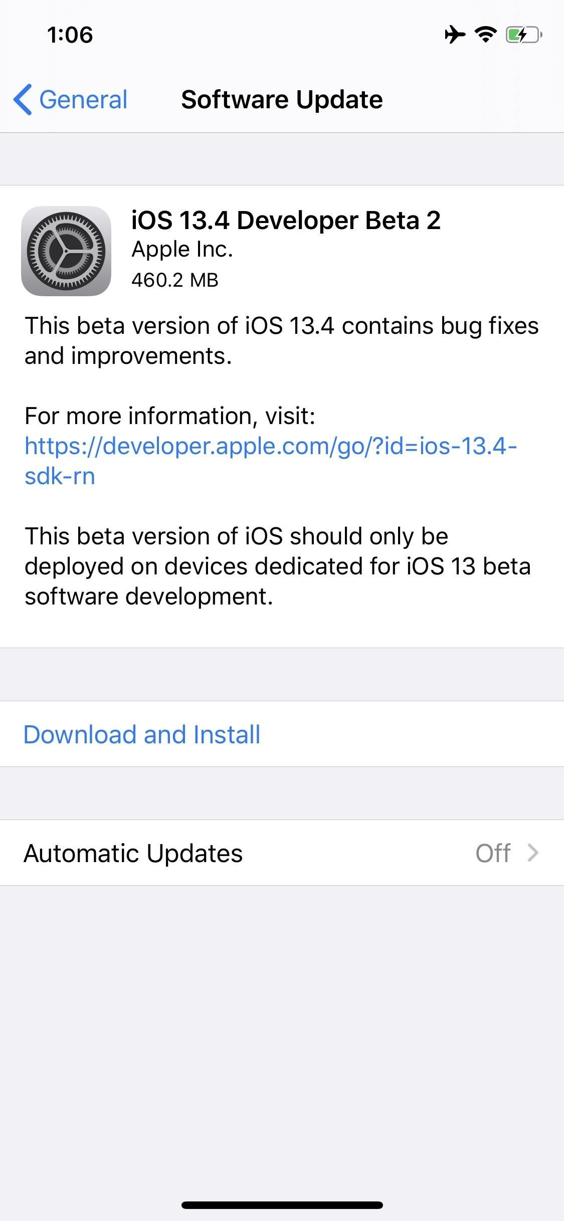 Apple Releases iOS 13.4 Developer Beta 2 for iPhone, Has New TV Options & Updated Mail Toolbar