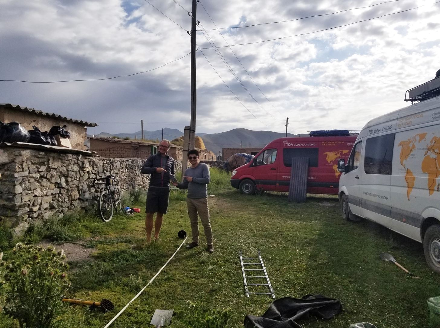 Our 3G tower is broken: The trials and tribulations of whereabouts on a three-month bicycle tour of Central Asia