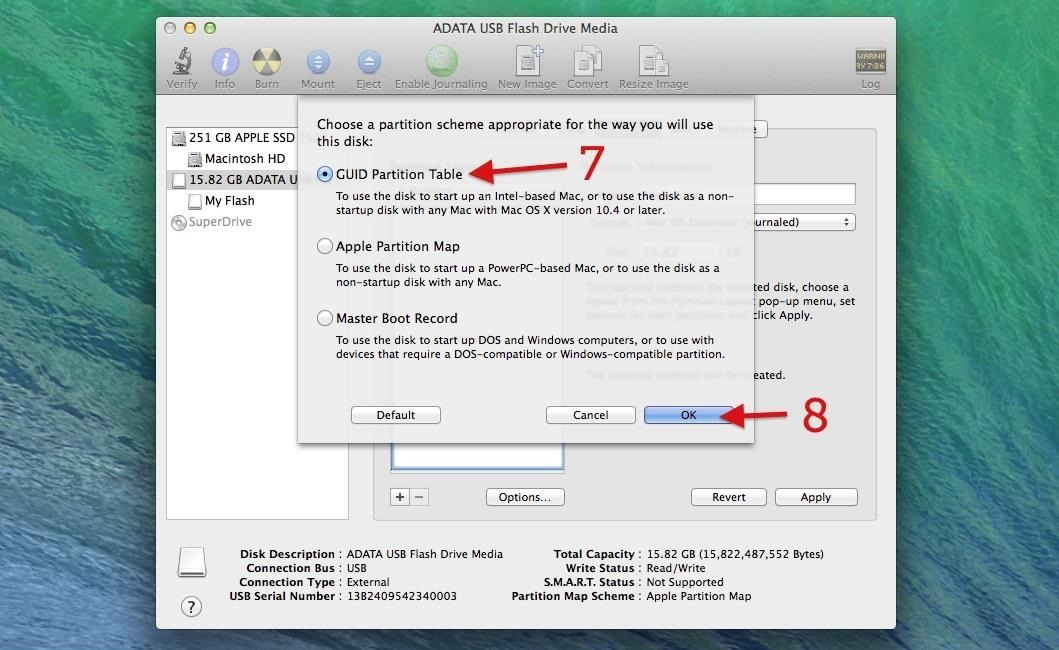 write mac iso to usb on windows