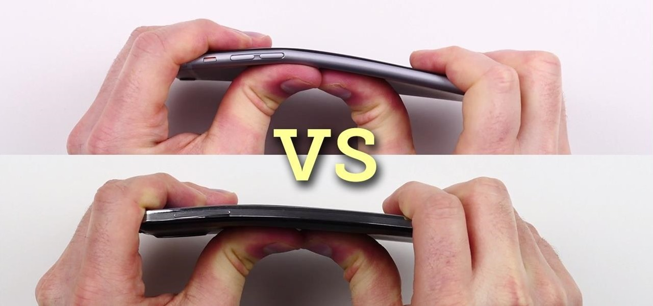 Will It Bend? iPhone 6 Plus vs. Samsung Galaxy Note 3