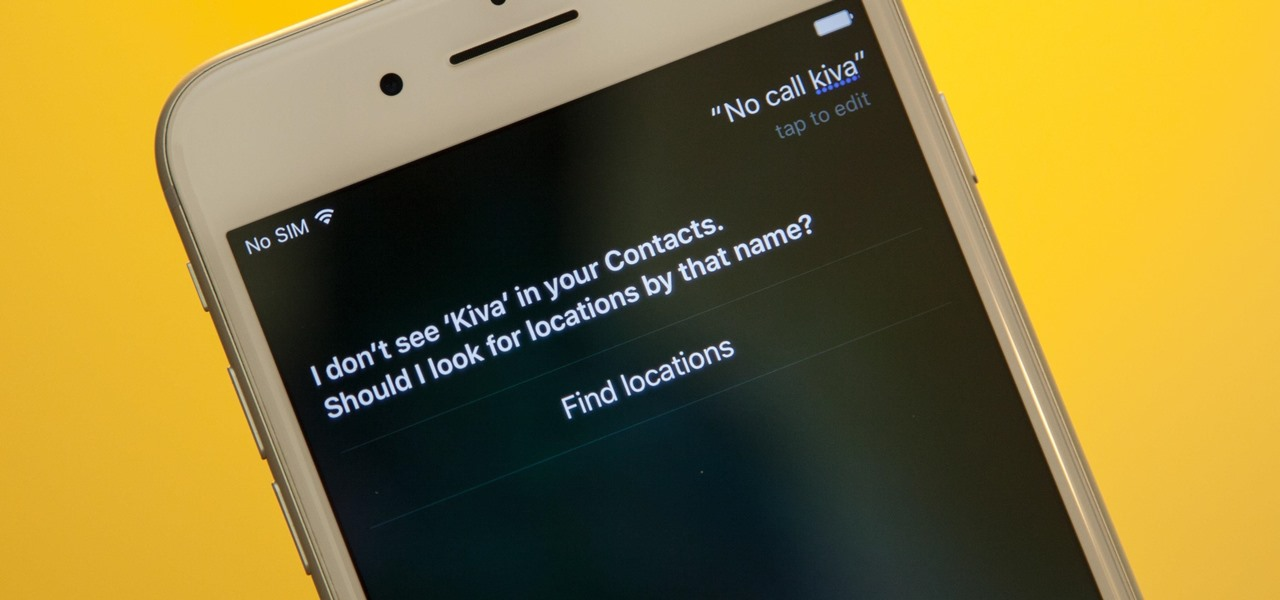How to Make Siri Correctly Recognize & Pronounce Contact Names on Your iPhone