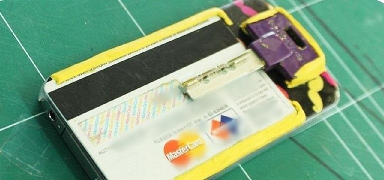 Turn Your Phone into a Wallet for Cards & Keys Using Sugru