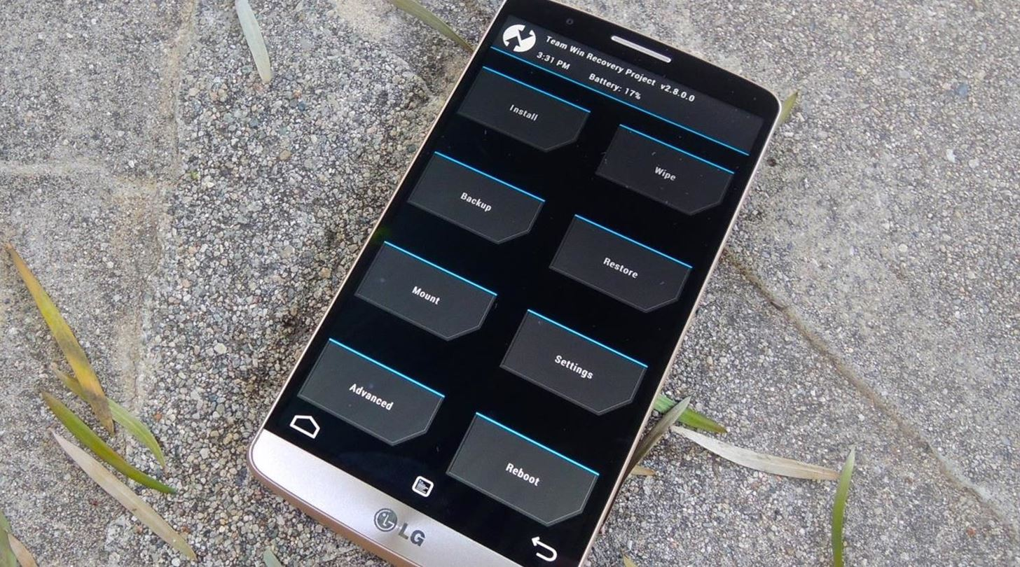 How to Unlock the Bootloader & Install a Custom Recovery on the LG
