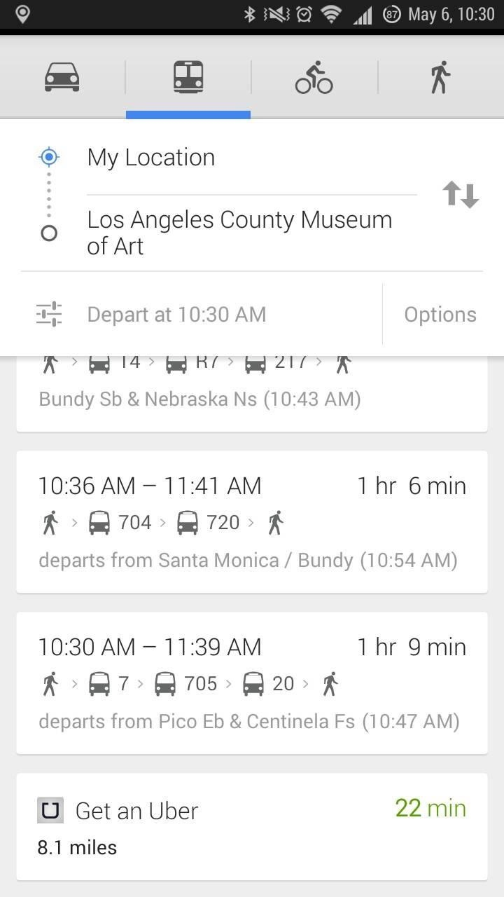 Major Google Maps Update Brings Uber Integration, New Navigation, & More