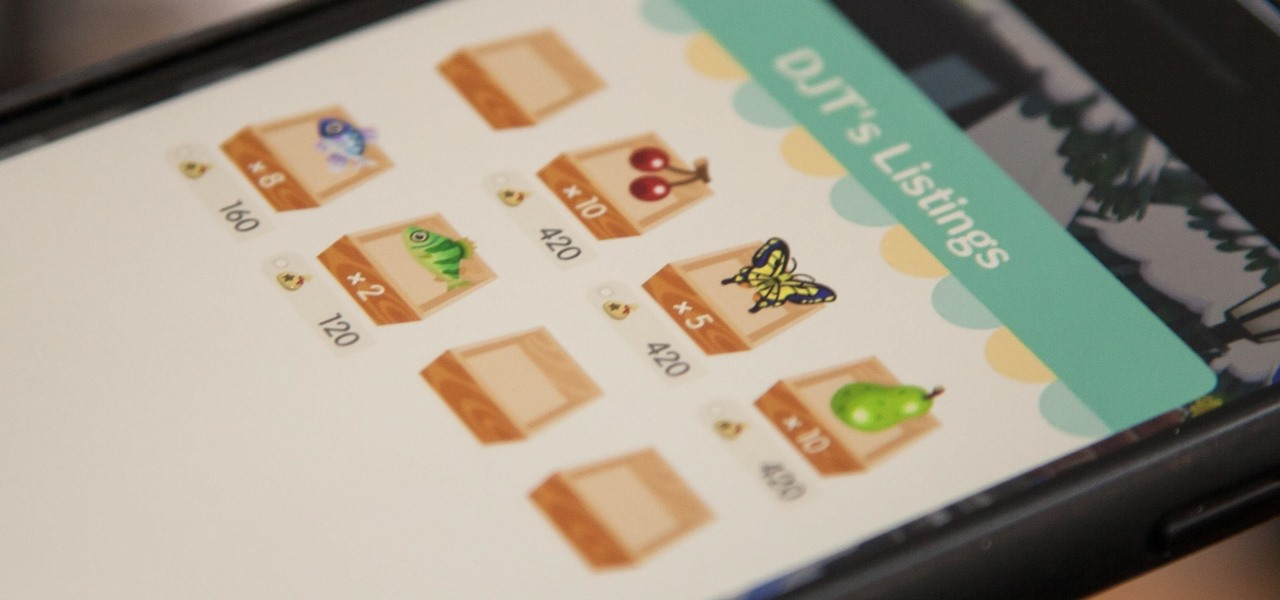 How to Use Market Boxes to Buy & Sell Items with Other Animal Crossing Players