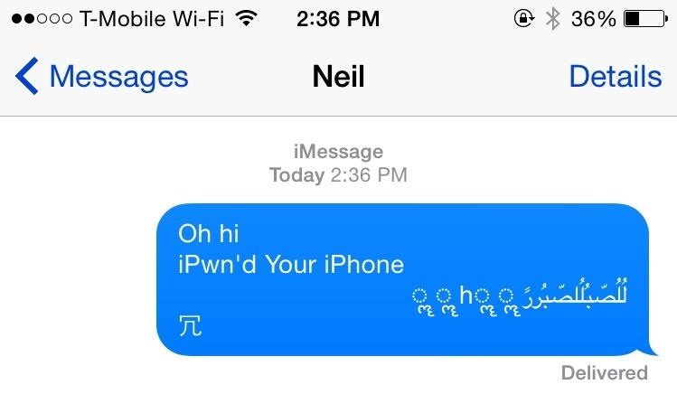Any Asshole with Your Phone Number Can Cripple Your iPhone