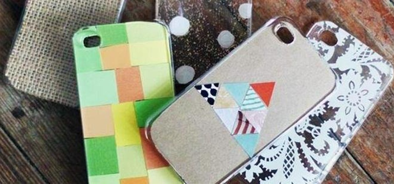 Design Your Own iPhone 5 Case for Less Than $5