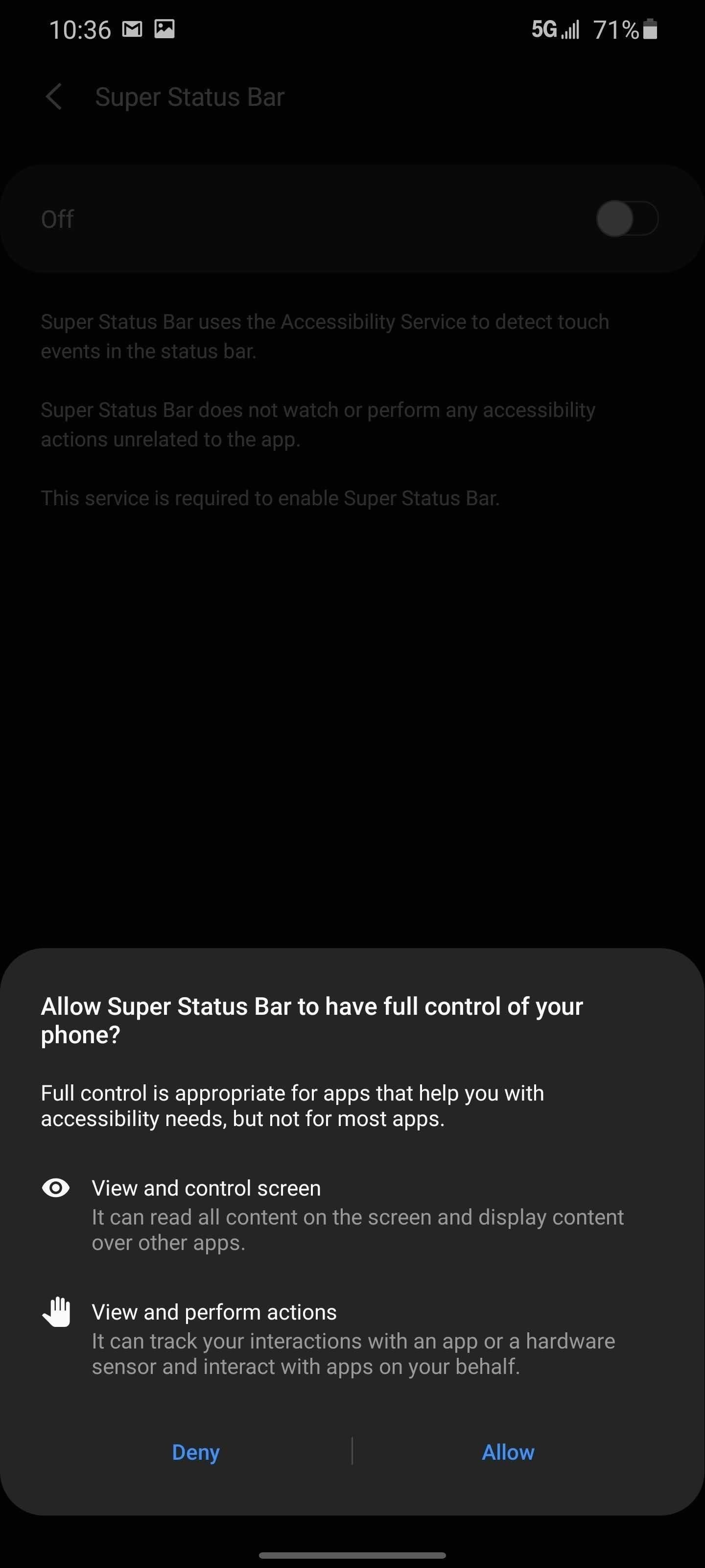Double Tap Your Status Bar to Quickly Turn Off the Screen on Any Android — No Root Needed