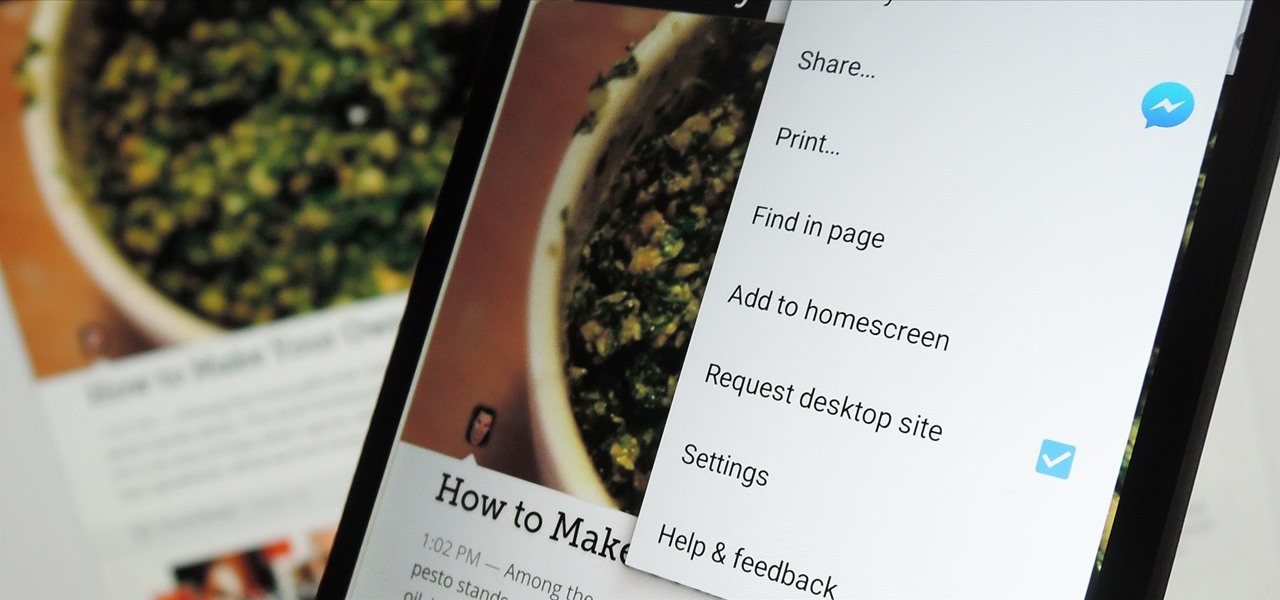 Permanently Browse in Desktop Mode on Android
