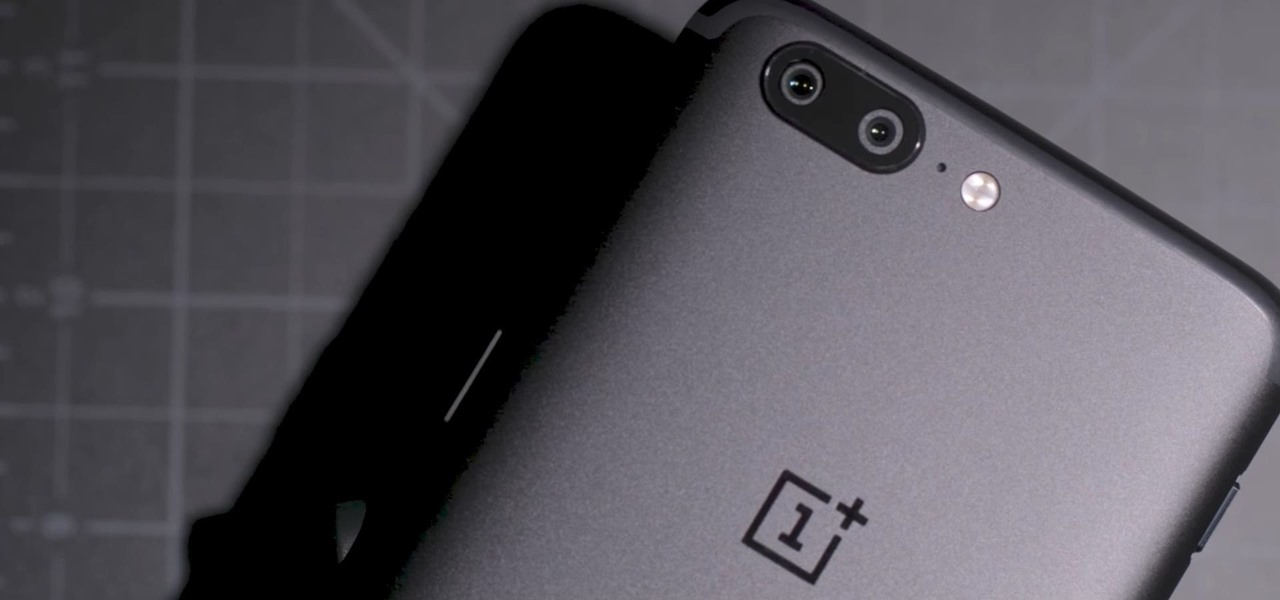 OnePlus 5 Takes a Page from the iPhone 7 Plus with Dual Cameras