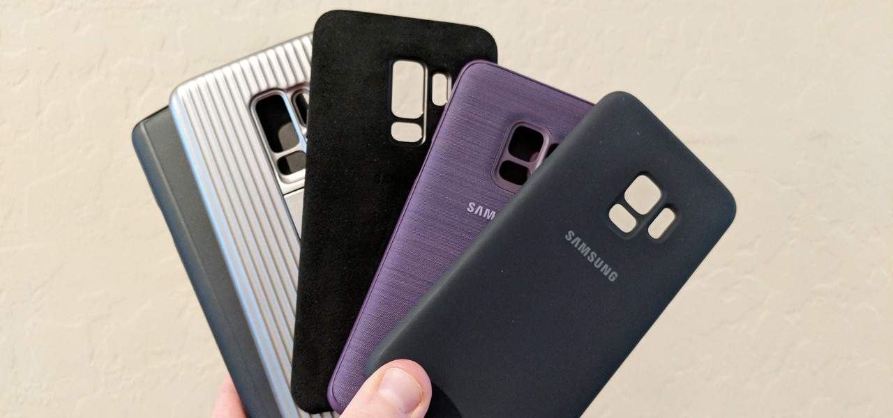 News: Hands-on with Samsung's Official OEM Cases for the Galaxy S9