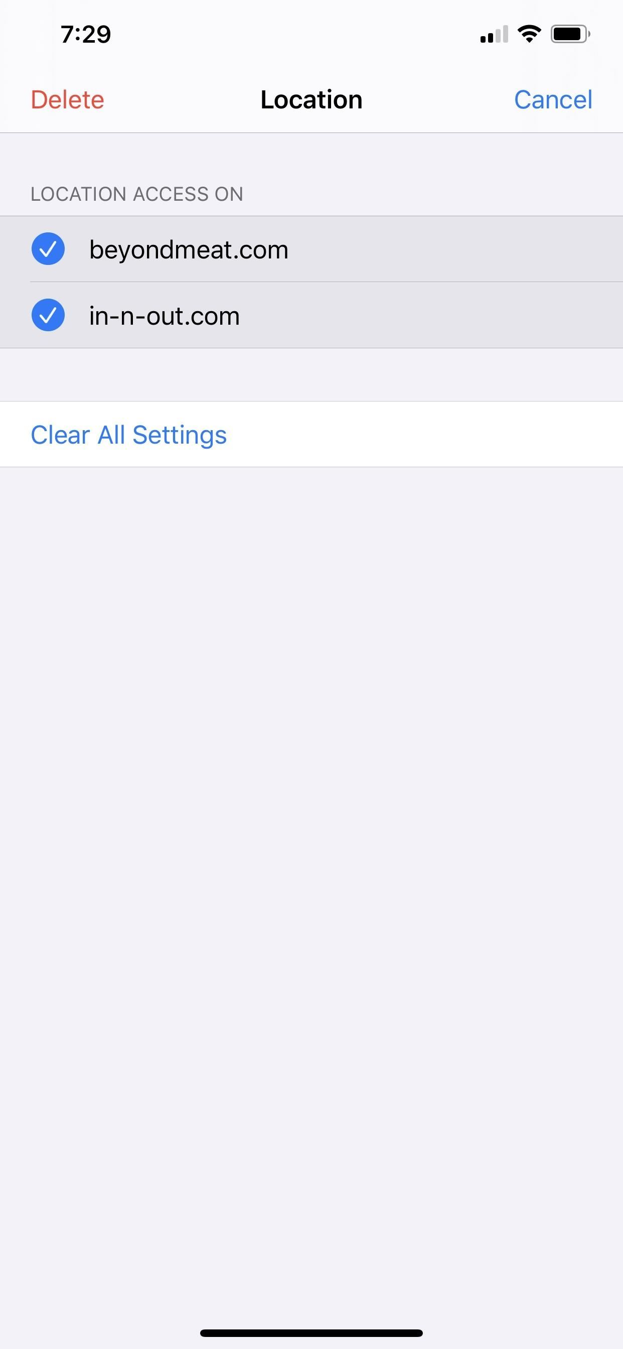 How to Customize Camera, Microphone & Location Permissions for Specific Websites in iOS 13's Safari