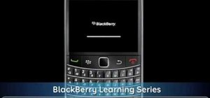 Unbox and set up a brand new BlackBerry Bold 9700 smartphone