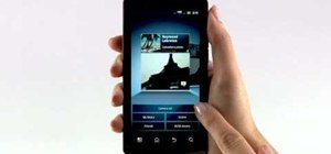 Use the Gallery app to view photos on the Motorola Droid Bionic