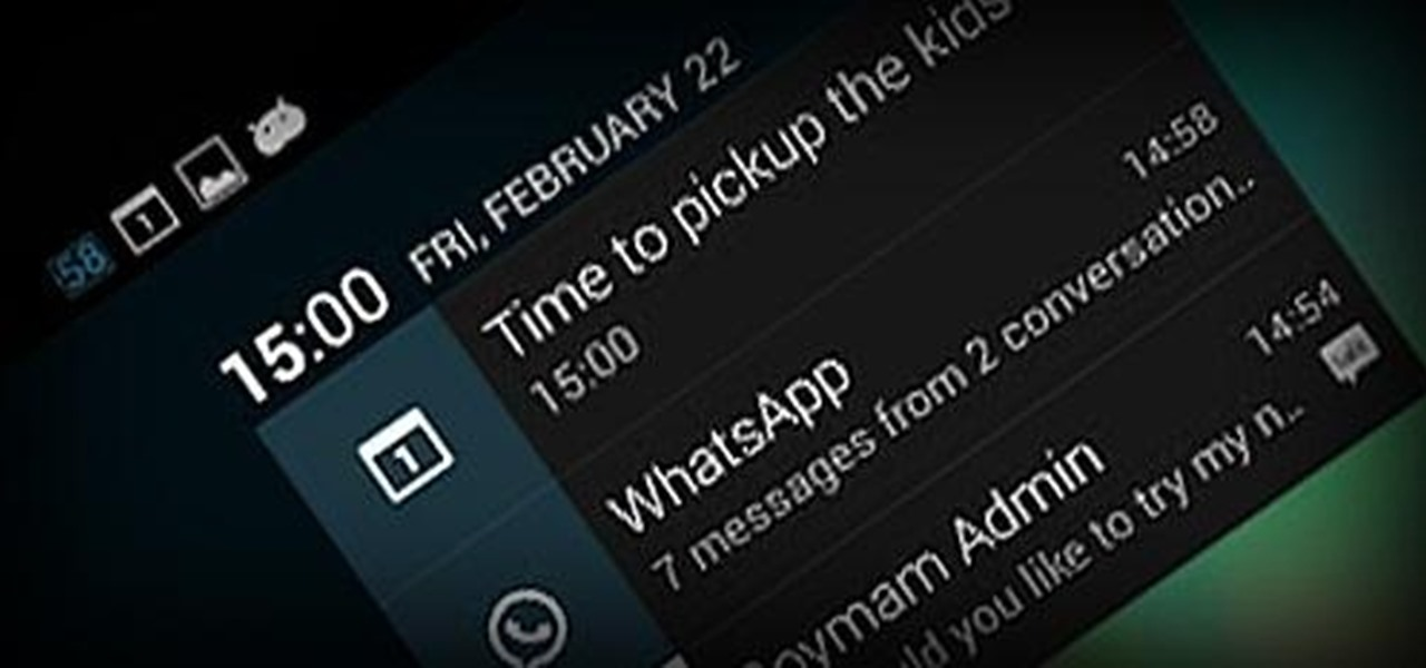 View Notification Details on the Lock Screen of Your Samsung Galaxy Note 2 or Other Android 4.2 Device