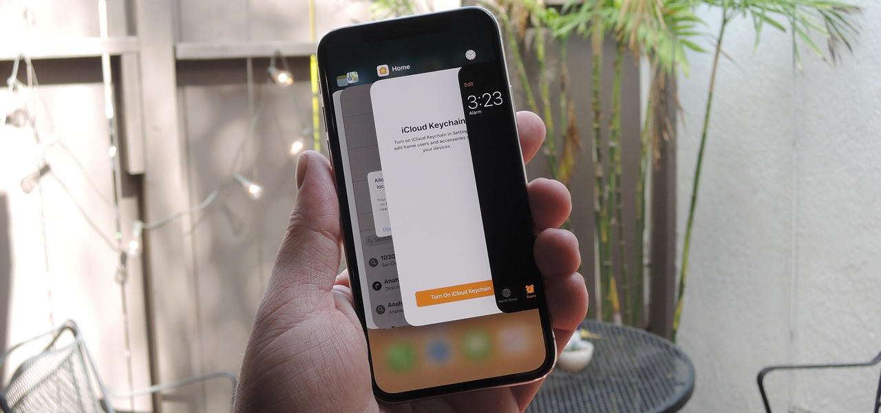 How to Force-Close Running Apps on the iPhone X, XS, XS Max