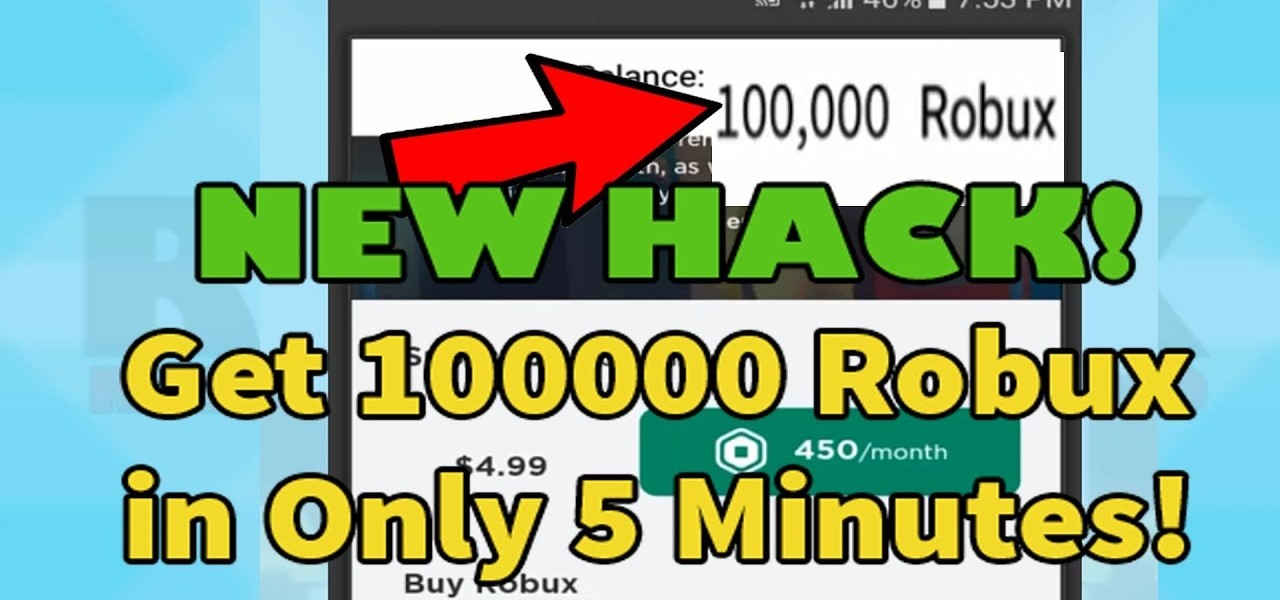 Free Robux 2018 Working How To Get Free Roblox Robux On Phone Mobile Android Ios Works 2020 November Android Gadget Hacks