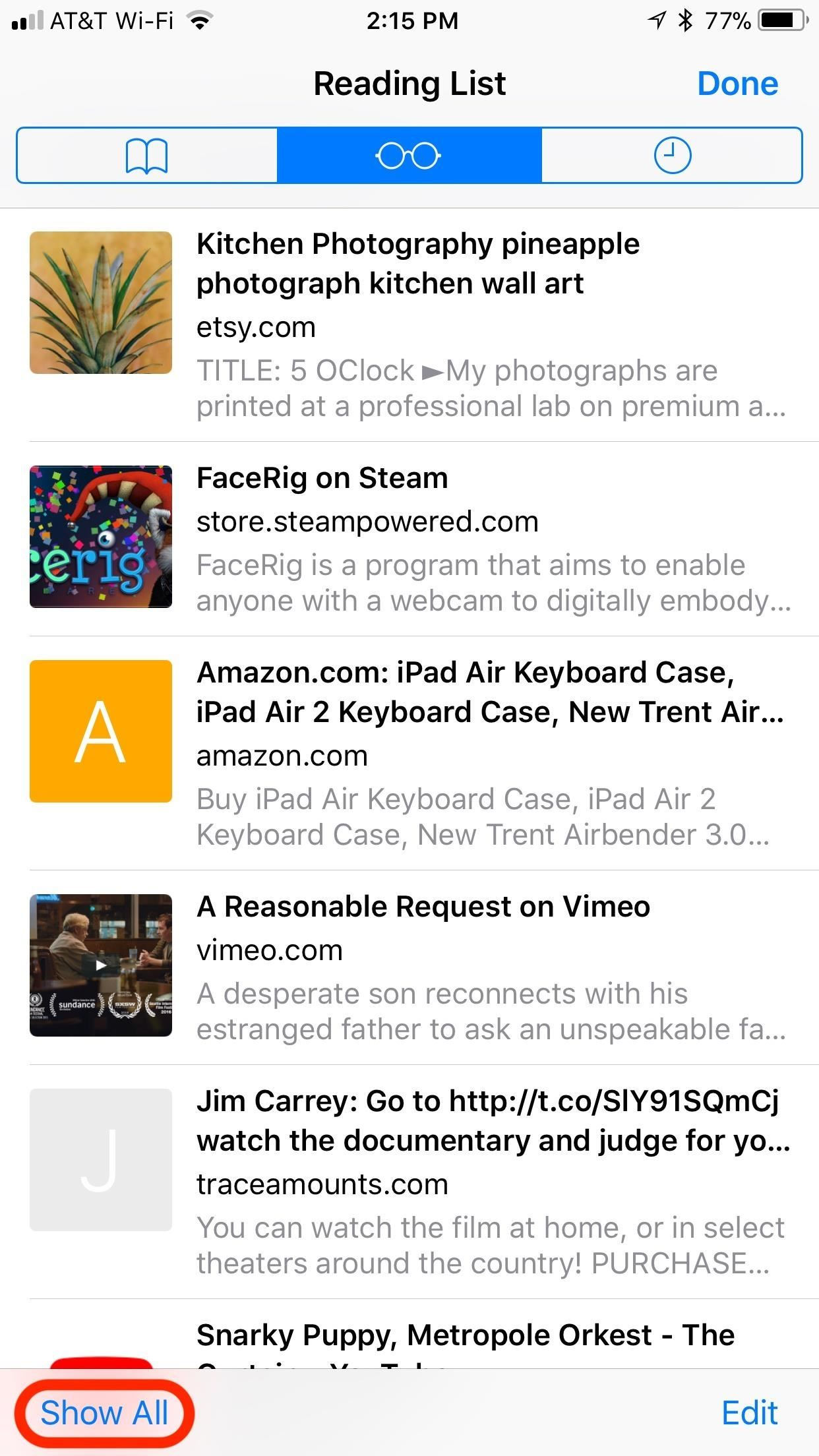 Safari 101: How to Use the Reading List to Save Articles, Videos & More for Later Viewing
